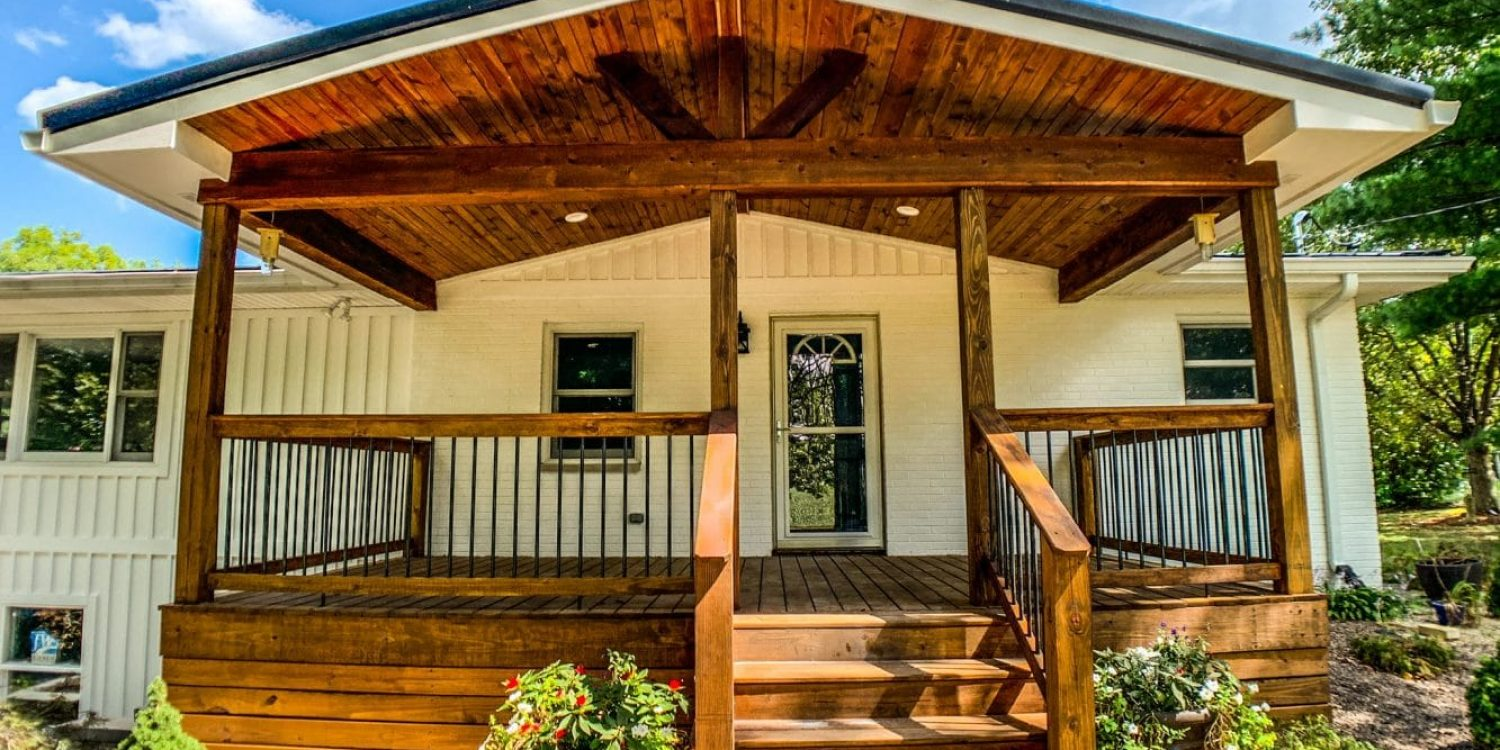 The 70's Ranch Renovation - House Exterior