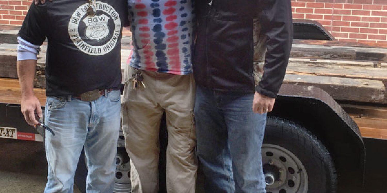 Bobby Williams, Rupert Boneham and Jason Schoeff